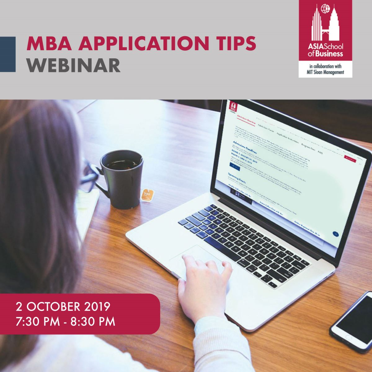 MBA Application Tips Webinar